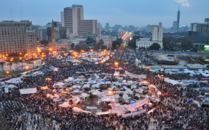 Sisi is building on what happened in Tahrir Square
