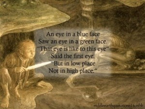 vision required to see the meaning behind the riddle