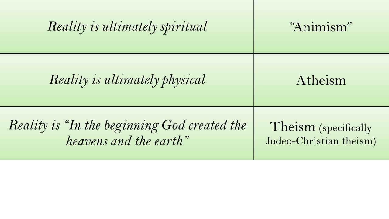 Eastern pantheism worldview on sexuality