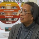 Sister Estrella Castalone serves in Talitha Kum rescuing victims of sex trafficking