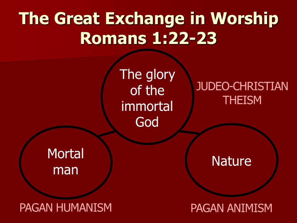 The Great Exchange in worship