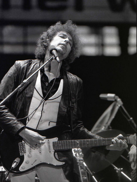 Bob Dylan's words also apply to a god of sex