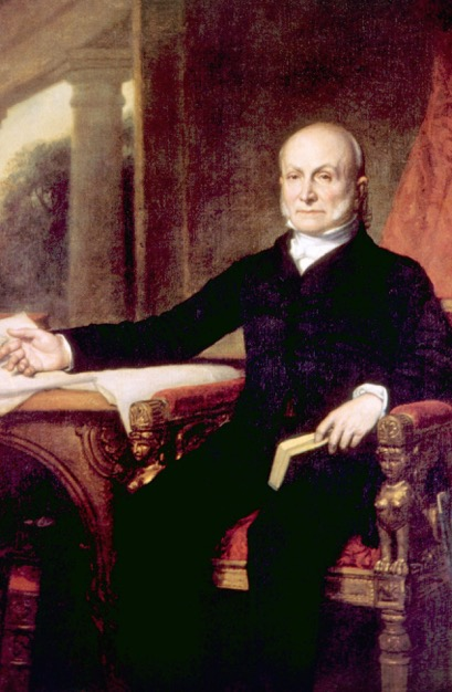 John Quincy Adams taught his children at home