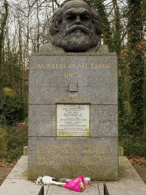 Karl Marx eroded the truth