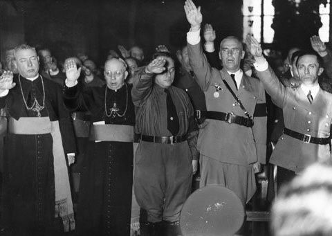Kittel and most German Christians were loyal to Hitler