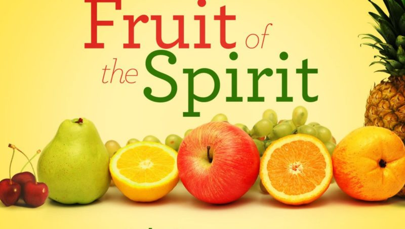 self-control one of the fruits of the Spirit
