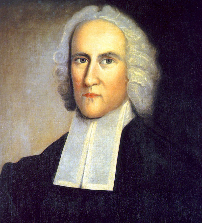 Jonathan Edwards' preaching helped fuel the American Revolution
