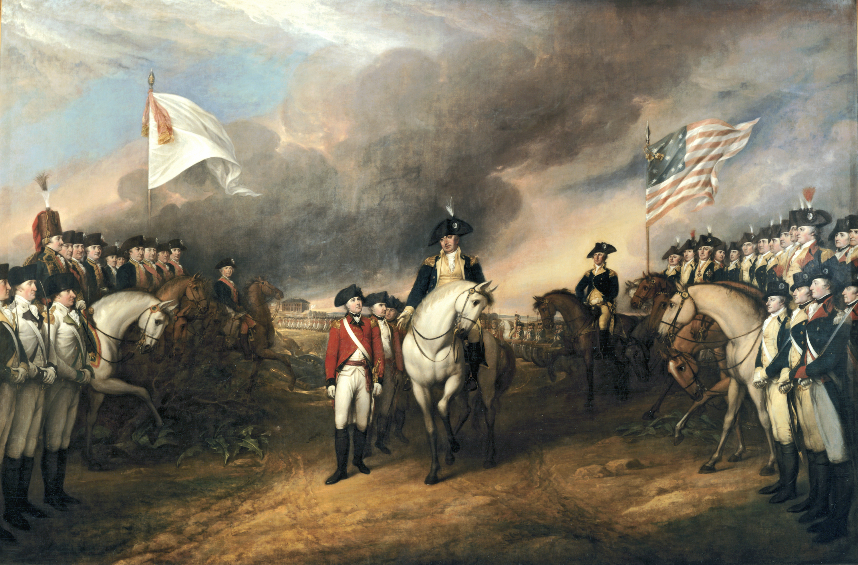 the American Revolution is seen as a power grab by white Europeans