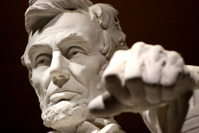 Abraham Lincoln proclaimed national Thanksgiving Day