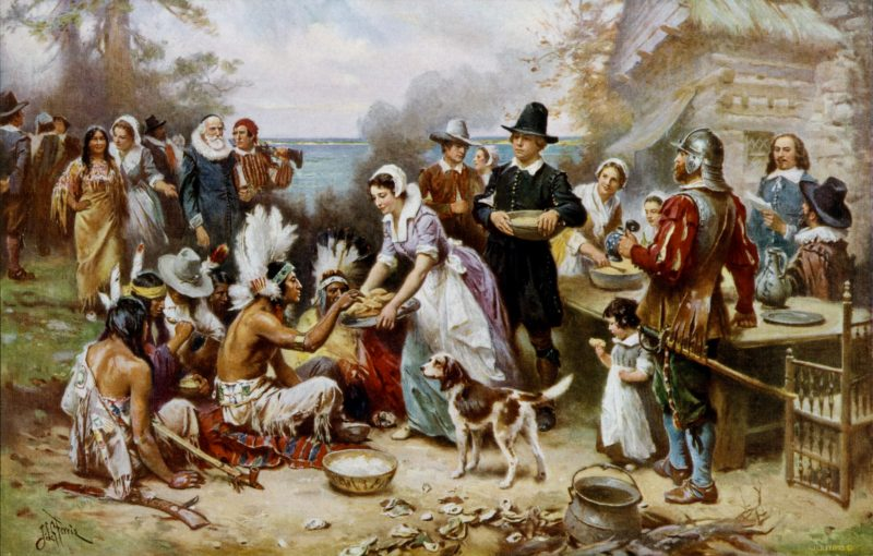 The first Thansgiving Day