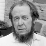 Aleksandr Solzhenitsyn understood where all human issues including race relations come from